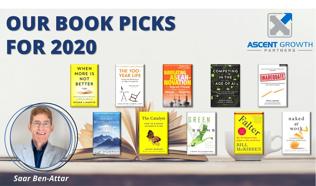 Our  book picks for 2020